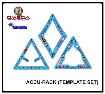 ACCU-RACK TEMPLATE SET