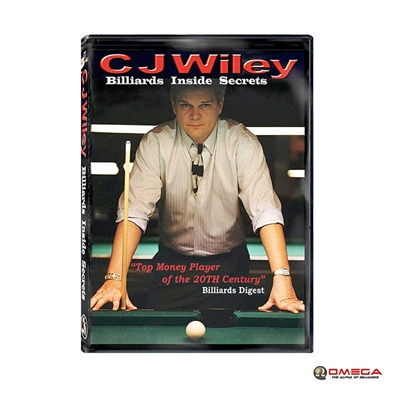 Professional CJ Wiley Billiard inside secret