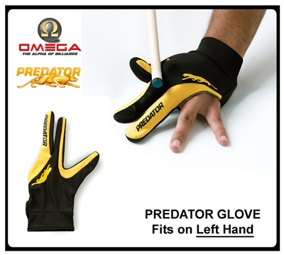 PREDATOR Glove (fits on left hand)