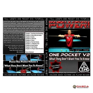Scott Frost Power One Pocket Vol: 2 1-pocket dvd dvd's