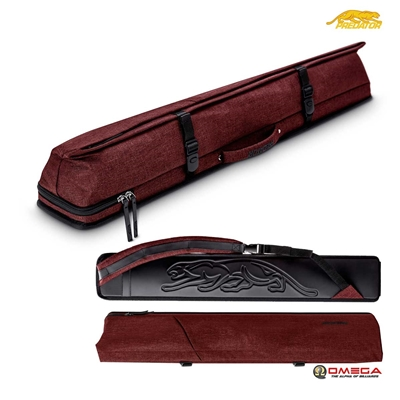 PREDATOR CUE CASE - Urbain 2X4 Hard Case Red
