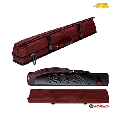 PREDATOR CUE CASE - Urbain 3X5 Hard Case Red
