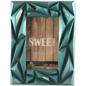 "Acrimet Photo Picture Frame 4"" x 6"" for Tabletop (Green Color) 14.1"