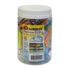 Acrimet Key Tag Jar w/60 Keyring Tags (Assorted Colors) Code 142.0