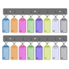 Acrimet Key Tag Rack w/ 8 Keyring Tags 2-Pack (Assorted Colors) Code 143.0