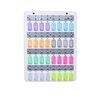 Acrimet Key Stand with 32 Key Tags (Assorted Color)