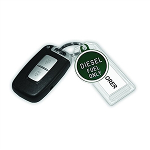 "Diesel Fuel Only Tag 1"" (12 Units) Code 207.2"