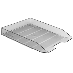 Acrimet Stackable Letter Tray (Smoke Color) (1 Unit) Code 211.1