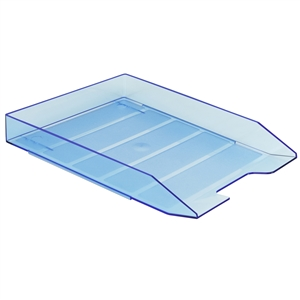 Acrimet Stackable Letter Tray (Clear Blue Color) (1 Unit) Code 211.2