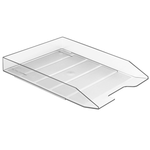 Acrimet Stackable Letter Tray (Clear Crystal Color) (1 Unit) Code 211.3