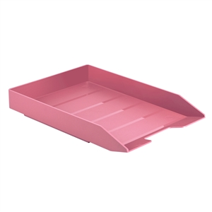 Acrimet Stackable Letter Tray (Solid Pink Color) (1 Unit) Code 211.9