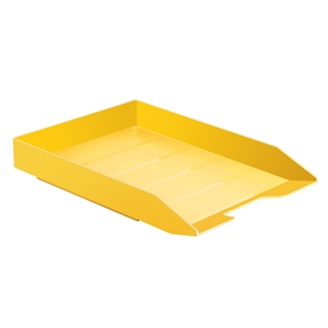 Acrimet Stackable Letter Tray (Solid Yellow Color) (1 Unit) Code 211.AC