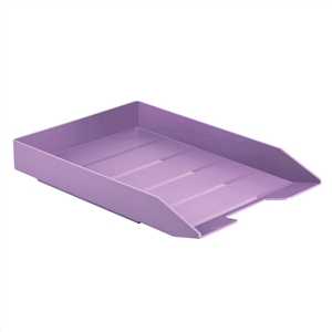 Acrimet Stackable Letter Tray (Solid Purple Color) (1 Unit) Code 211.LO