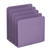 Acrimet Desk Metal File Sorter 4 Compartments (Purple Color) 223.3