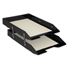 Acrimet Collapsible Articulated Letter Tray Double (Black Color) Code 243.4