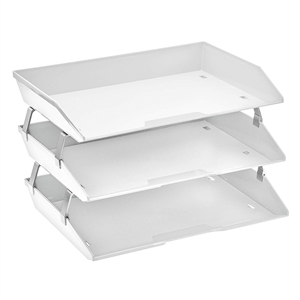 Acrimet Facility 3 Tiers Triple Letter Tray (White Color) Code 255.6