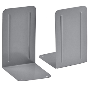 Acrimet Premium Bookends (Silver Color) 1 Pair Code 292.1