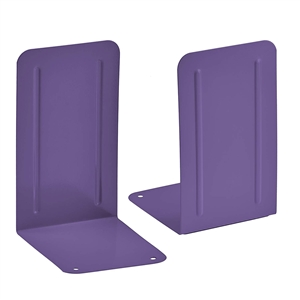 Acrimet Premium Bookends (Purple Color) 1 Pair Code 292.4