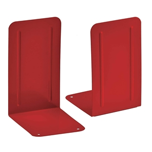 Acrimet Premium Bookends (Red Color) 1 Pair Code 292.8