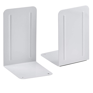 Acrimet Premium Bookends (White Color) 1 Pair Code 292.9