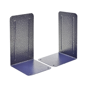 Acrimet Premium Bookends Metallic Finishing (Blue Platinum Color) 1 Pair Code 293.2
