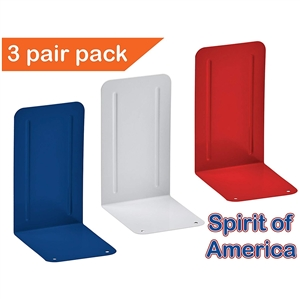 Acrimet Spirit of America Bookend Premium (3 Pairs Pack) (Deep Blue/White/Red) Code 293.6