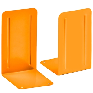 Acrimet Premium Bookends (Orange Color) 1 Pair Code 293.6LC