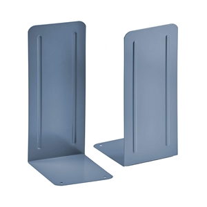 "Acrimet Jumbo Premium Bookends 9"" (Blue Color) 1 Pair Code 294.2"