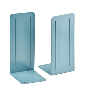 "Acrimet Jumbo Premium Bookends 9"" (Green Color) 1 Pair Code 294.3"