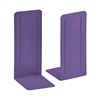 "Acrimet Jumbo Premium Bookends 9"" (Purple Color) 1 Pair Code 294.4"