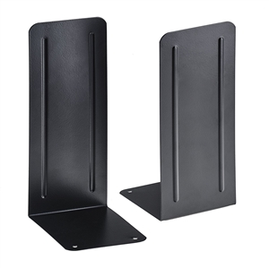 "Acrimet Jumbo Premium Bookends 9"" (Black Color) 1 Pair Code 294.5"