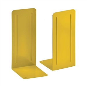 "Acrimet Jumbo Premium Bookends 9"" (Deep Yellow Color) 1 Pair Code 294.6"