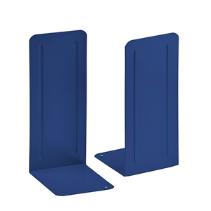 "Acrimet Jumbo Premium Bookends 9"" (Deep Blue Color) 1 Pair Code 294.7"