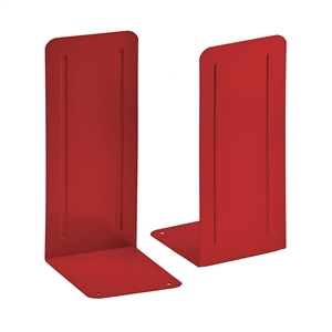 "Acrimet Jumbo Premium Bookends 9"" (Red Color) 1 Pair Code 294.8"