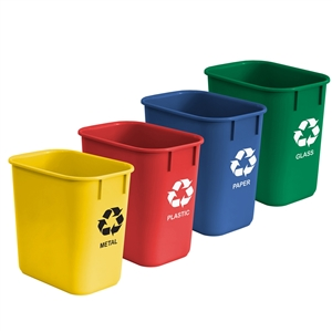 Acrimet Wastebasket for Recycling 13QT (4 Units) Code 572.0