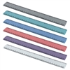 uler 12 Inches and 30 cm Heavy Duty (Pastel Assorted Color) (6 Pack)