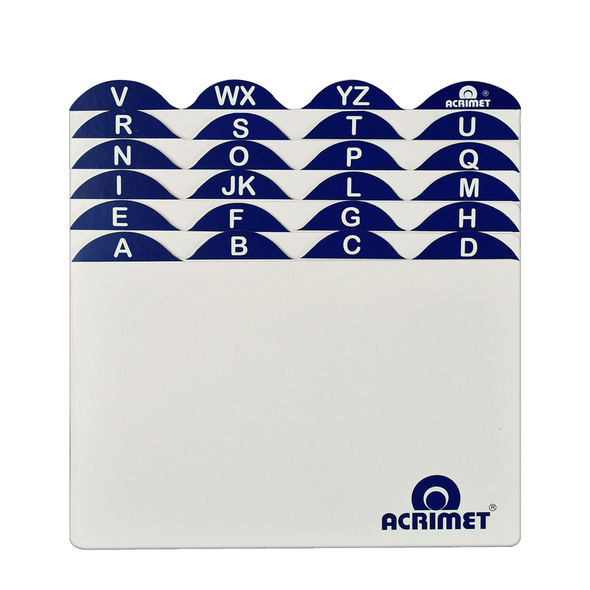 Acrimet Index Cards For 4 X 6 Card Holder A To Z 632 Christmas