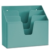 Acrimet Horizontal Triple File Folder Organizer (Solid Green Color) Code 860.VO