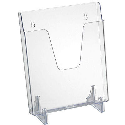 Acrimet Pocket File Vertical Exhibitor (Clear Crystal Color) Code 863.0