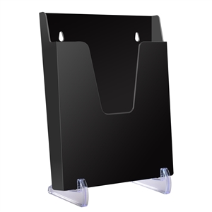 Acrimet Pocket File Vertical Exhibitor (Solid Black Color) Code 863.4