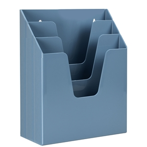 Acrimet Vertical File Folder Organizer (Solid Blue Color) Code 864.AO