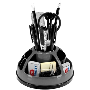 Acrimet Maxi Office Desk Organizer With Accessories (Gray Color)