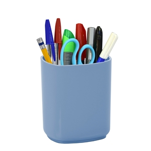Acrimet Jumbo Pencil Cup Holder (Solid Blue Color)