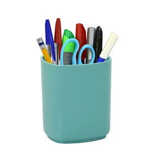 Acrimet Jumbo Pencil Cup Holder (Solid Green Color)