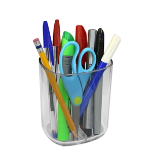 Acrimet Jumbo Pencil Holder Cup (Clear Crystal Color) 934.3