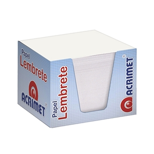 Acrimet Memo Paper Cube (White Color)