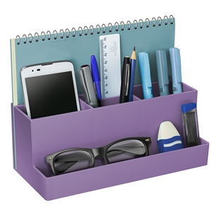 Acrimet Desktop Multi Organizer Caddy Holder Purple 959.3