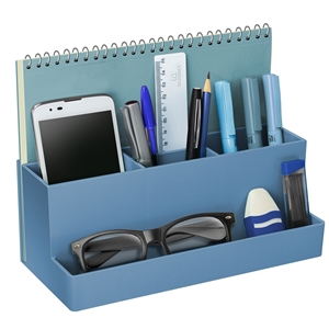 Acrimet Desktop Multi Organizer Caddy Holder Blue 959.5