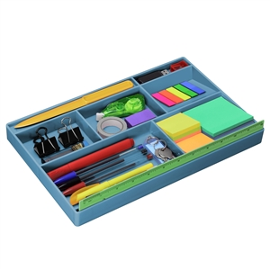 Acrimet Drawer Organizer (Solid Blue Color) Code 977.AO
