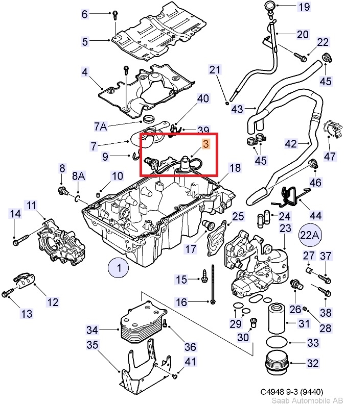 lubrication system oil pan oil filter 6 cylinder rh saabusaparts com Oil Energy Diagram Oil Spill into Ocean